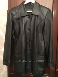 Кожаный пиджак состояние отличное