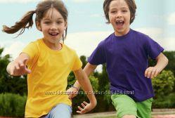 Детские футболки Fruit of the Loom 100 хлопок