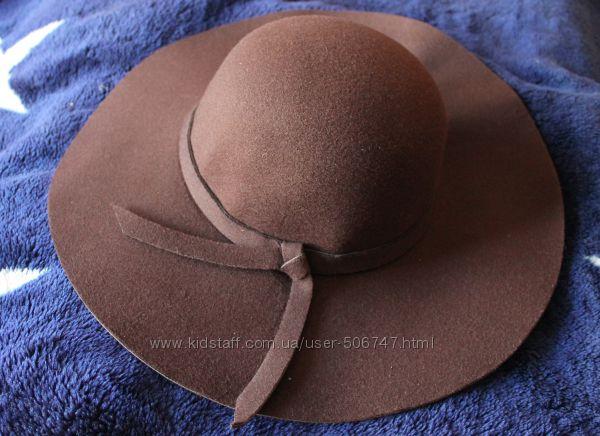 новая шляпа с полями