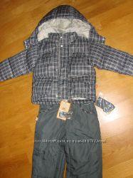 Осенне-зимний комплект для мальчика пух 74см  650грн