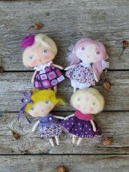 Оригинальные текстильные куклы Sweetheart Doll Тильда - милый подарок