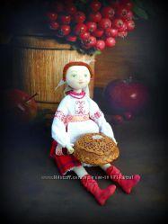 Домовушка хлебосольная Берегиня  кукла оберег