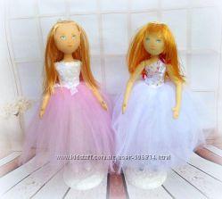 Кукла текстильная портретная, герои сказок - оригинальный подарок под заказ
