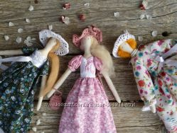Кукла Тильда дама в шляпке - делаю кукол под заказ