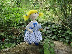 Кукла текстильная в морском стиле