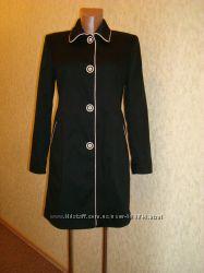 Тренч, плащ, пальто коттоновое Etam в стиле Coco Chanel р. 10