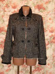 Шикарное шерстяное полу пальто лимитированной коллекции MNG