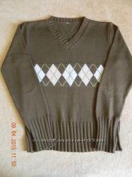 Пуловер в английском стиле