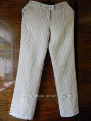 Итальянские легкие летние льняные брюки. Состояние отличное