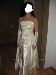 Новое свадебное платье от салона Княжна дешево
