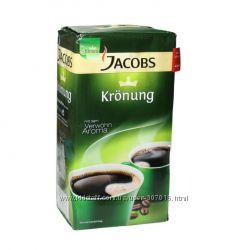 Кофе Jacobs Kronung Aroma-Bohnen молотый 500 г
