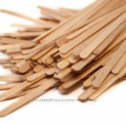 Деревянные мешалки для чая и кофе