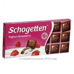 Немецкий шоколад SCHOGETTEN Шогеттен белый, молочный, недорого