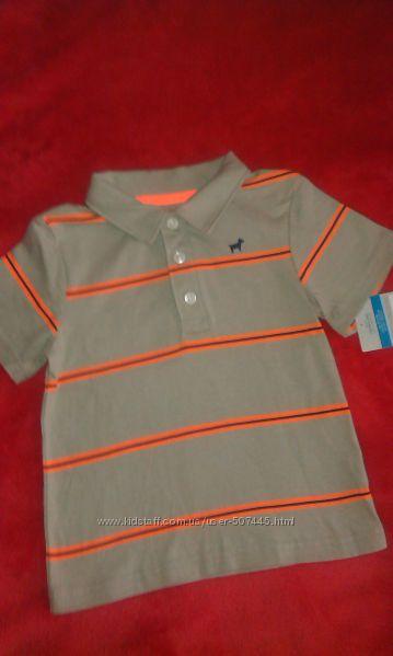 Новая рубашечка поло Carters 24м