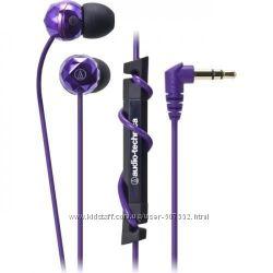 супер наушники AudioTechnica Япония, purple, pink