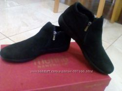 Новые туфли нубук 38р