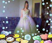 Свадебно-выпускное платье