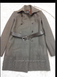 Продам стильное пальто от Patrizia Pepe Оригинал . Одето два раза , состоян