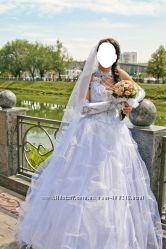 свадебное платье в подарок туфли
