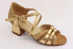 Золотые, с парчей, танцевальные, туфли, для девочек, Club, Dance, клубденс