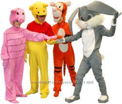 Винни-Пух, Пятачок, Тигра и Кролик на день рождения и еще 50 программ