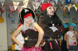 Пираты и другие аниматоры Киев, Борисполь. Более 50 игровых программ