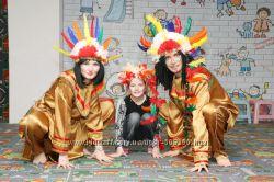 Индейцы и еще более 50 программ для детского праздника Киев Борисполь