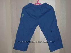 Симпатичные брюки - плащёвка р. 80 - 86  см