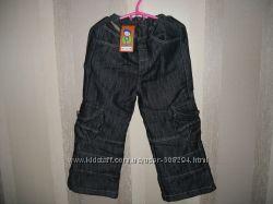Симпатичные тёплые джинсы 2 - 4 года ТМ Одягайко