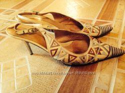 Туфли кожаные Италия  р. 36 в отличном состоянии