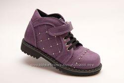 Демисезонные ботинки для стильных девочек