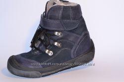 Ботинки из нат. кожи на меху , ТМ Perlina