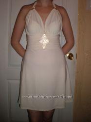 Платье - сарафан мокрый трикотаж