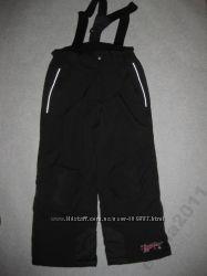 зимние термо штаны полукомбинезон на 116 роста