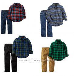В наличии красивые комплекты Carters для мальчиков.