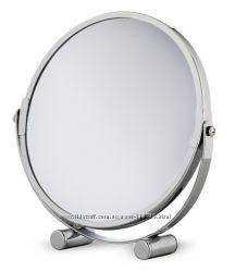 Зеркало увеличительное настольное диаметр 17 см