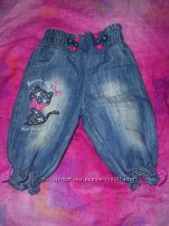 модные джинсы каприки