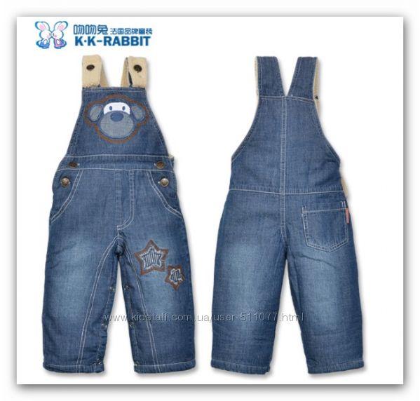 Теплые джинсовые и другие комбинезоны