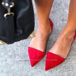 Пошив обуви балетки разные модели остроносые