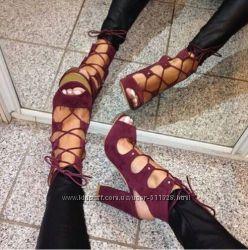Пошив обуви Ботильоны переплеты каблук