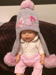 Зимняя шапка 42-44 для девочки