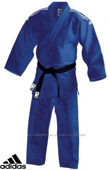 Кимоно Adidas Training J500 для Дзюдо Синее.