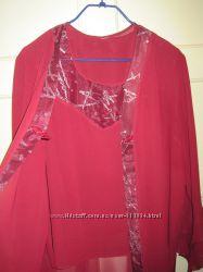 Красивая блуза-двойка для эффектной девушки