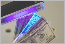 Портативный детектор банкнот PRO-4P