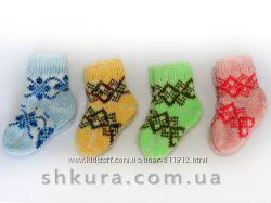 Детские шерстяные носочки. Большой выбор