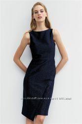Sparkle Pencil Dress Petite Платье Некст размер англ 6 евро 34