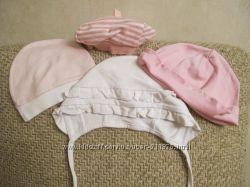Трикотажные шапочки наши для манюньки