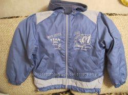Куртка на флисовой подкладке на мальчика р. 128-134