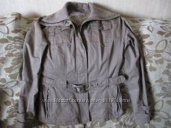 Хлопковая курточка BAON 46-48 р. цвет-кофе с молоком