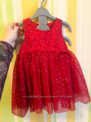 Нарядное платье Name it 9 12 M 80 см